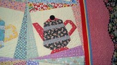 Chocolate Dipped Quilts: Dancin Teapots
