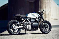 """BMW """"Schmetterling K75s"""" by Renard Speed Shop Motos Bmw, Bmw Motorcycles, Custom Motorcycles, Custom Bikes, Bmw Cafe Racer, Moto Cafe, Cafe Racers, Cafe Bike, Bike Bmw"""