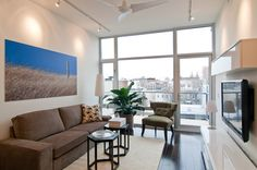 Same condo in Brooklyn, the living room.