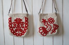 Hungarian Embroidery, Folk Embroidery, Hand Embroidery Patterns, Red Brolly, Regional, Mittens, Scandinavian, Stencils, Cross Stitch