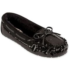 I want some Black Sequin Moccasins for Christmas!!!