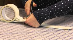 DIY Washi Tape with Fabric Scraps | How to make your own adhesives with felt or fabric