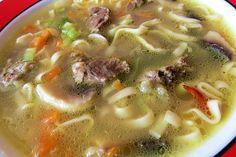 Čínská hovězí polévka