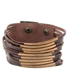 leather bracelet $17