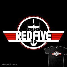 Top Red Five #StarWars #TopGun