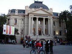 Museo de Arte Contemporáneo, sede Parque Forestal Street View, Contemporary Art, Art Museum, Museums, Parks, Buildings