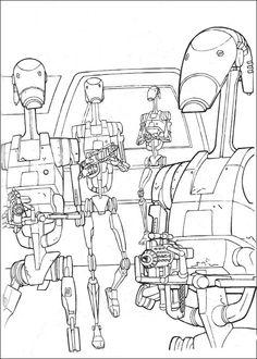 coloriage dessins dessins imprimer et la couleur en ligne star wars 5