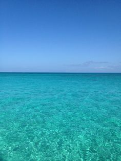 We get to see this soon!!! Nassau, Bahamas crystal clear turquoise ocean.