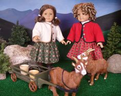 Doll Clothes Patterns Heidi of the Alps via Etsy.