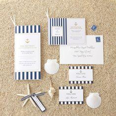 Francis marine/Paper item/Wedding/Invitation/Name plate http://www.piary.jp/paper/paper_series/francis_marine_series/