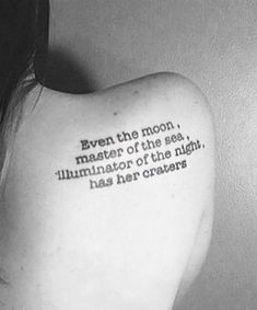 50 Best Tattoo Quotes And Short Inspirational Sayings For Your Next Ink   YourTango Ink Quotes, Tattoo Quotes For Men, Meaningful Tattoo Quotes, Moon Quotes, Tattoos For Guys, Qoutes, Fear Quotes, Anxiety Quotes, Wörter Tattoos