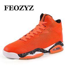 291a554384d FEOZYZ High Top Men Basketball Shoes Genuine Air Sole Damping Basketball  Boots Sneakers Zapatillas De Basquet