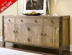 With ample storage space and style to spare, these must-have sideboards and servers invite you to entertain with ease and effortless chic. Featuring heirloom-inspired designs, industrial finishes, and clean and sleek shapes, these fashionable finds are perfect for showcasing cocktails and mouth-watering appetizers while stowing away seasonal china for your next soiree.