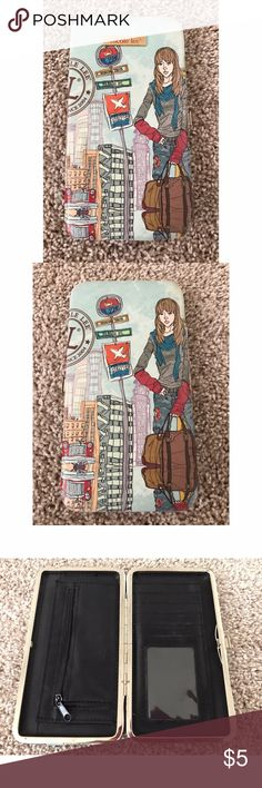 Nicole Lee wallet Nicole Lee wallet, very gently used. Nicole Lee Bags Wallets