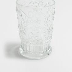 Cut Glass Water Tumbler - Glasses - Glassware - Tableware | Zara Home United Kingdom