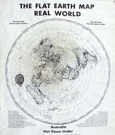 flat-earth-map | Flat Earth | Flat Earther