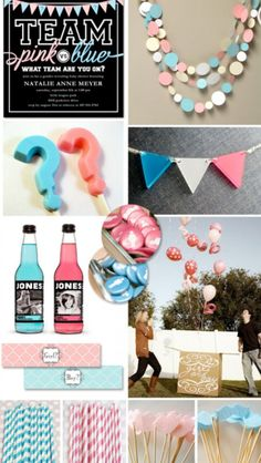 Gender reveal idea. I can't make the site come up, but I like the ideas.