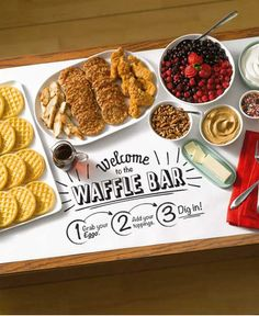 Create the perfect brunch with a fun and easy Self-Serve Eggo Waffle Bar