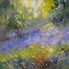 Rex Preston/ Bluebells, Shining Cliff Woods   www.rexpreston.com