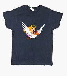 T-shirt Bambino, manica corta, blu marino
