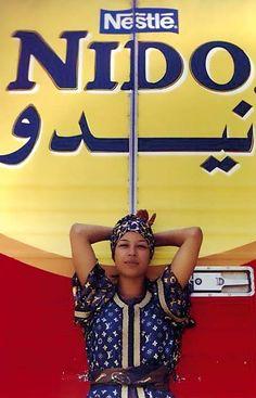 Hassan Hajjaj « Nido Bouchra » (2000)