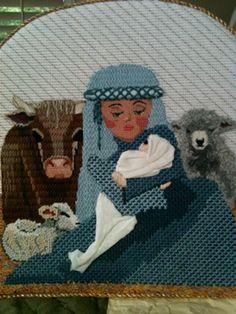 steph's stitching: Unusual Nativity Set from Demarj