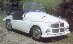 Kleinschnittger F125 - this German micro car with a 125cc engine is the slowest sports car ever built.