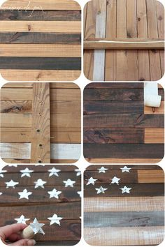 DIY Planked American Flag Maison de Pax is part of Flag diy - See this tutorial to make your own stunning DIY planked American flag In neutral colors, this simple patriotic artwork can be used year round American Flag Pallet, American Flag Wood, American Flag Crafts, American Decor, Pallet Flag, Wood Flag, Pallet Art, Diy Pallet Projects, Woodworking Projects