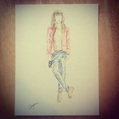 To Live for Style all sketched-up
