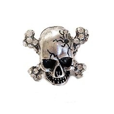 tone Skull Punk Bike Rider Men's Ring