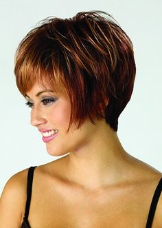 Dressing yourself with our designer short wigs and make you look like stylish and fashion. Short wigs online shopping is your best choice. These short wigs are ideal for looking chic and feeling cool. Best Bob Haircuts, Short Hairstyles For Women, Straight Hairstyles, Hairstyle Short, Layered Haircuts, Latest Haircuts, Modern Hairstyles, Summer Hairstyles, Hairstyle Ideas
