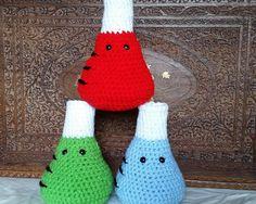 Crochet Erlenmeyer Flask--Soft Science Toy