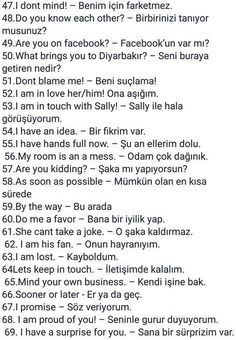 This Pin was discovered by Ayş Language Study, English Language Learning, Language Lessons, Teaching English, English Idioms, English Lessons, English Vocabulary, English Grammar, English Time