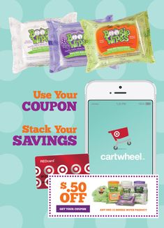 Do you love Target? You're going to love this!! Stack your savings on Boogie Wipes at Target by using Cartwheel plus a coupon.