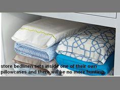 Linen Closet Hacks
