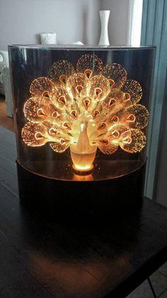 Multi-Colour Light Up Peacock