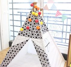 Teepee Tent with lights Christmas SALE 30 % - Tipi couponcode- christmas16 by NestleInATeepee on Etsy