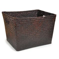 Alexa Large Utility Basket - Mahogany, fits under long bench and in 15x15 boxes. $8.50 each