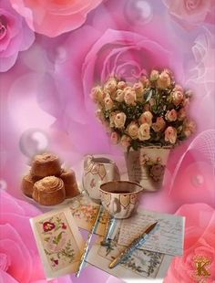 Happy Sunday Images, Couple Message, Beautiful Gif, Flower Aesthetic, Good Morning Quotes, Creative, Sweet, Good Night Sweet Dreams, Rose Trees