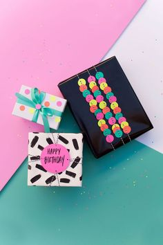 Fun DIY gift wrap