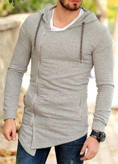 Gri Tarz Fermuar Detayli Hirka ürününü ayrıntılı incelemek için hemen tıklayın. En şık Triko Hırka ve Kazak modelleri için seçim Modagen. Stylish Outfits, Fashion Outfits, Casual Wear For Men, Model Outfits, Outfit Grid, Mens Tees, Streetwear Fashion, Shirt Designs, Mens Fashion