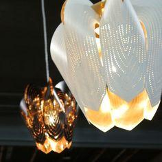 Blossom lampshade - www.beandliv.com #beandliv #design #lampshade  Photo by @tuijaujau