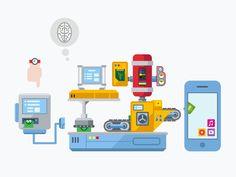 App Development Production Line by Anton Frizler