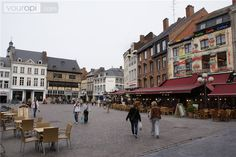 Hasselt, belgium. Every Friday a market is held here- it's crowded! I love going there on Fridays.