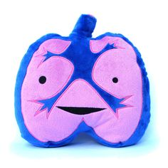 Lung Plush....organ plush dolls.....i SO WANT!