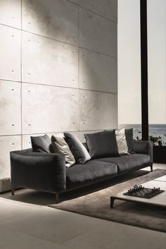 Giorgetti, timeless designer furniture available to buy online. Functional, contemporary pieces with an unmistakable style. Sofa Design, Furniture Design, Interior Design, Online Furniture, Sofas, Couch, Contemporary, Living Room, Wood