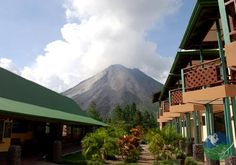 Arenal Observatory Lodge Hotel , Costa Rica. This former volcano observation facility is a stunning lodge with breathtaking views nowadays!