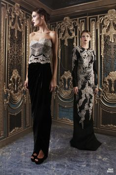 Rami Kadi 2012/2013 beautiful use of velvet.