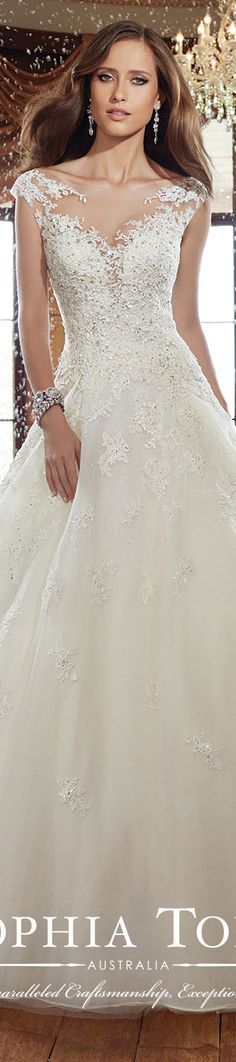 Sophia Tolli #wedding #dress / Fall 2015 collection #coupon code nicesup123 gets 25% off at www.Provestra.com www.Skinception.com and www.leadingedgehealth.com