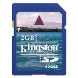 Kingston 2 GB SD Flash Memory Card SD/2GB (Accessory)By Kingston